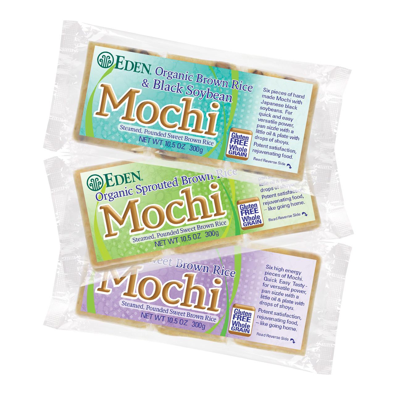 Brown Rice Mochi Sampler, Organic