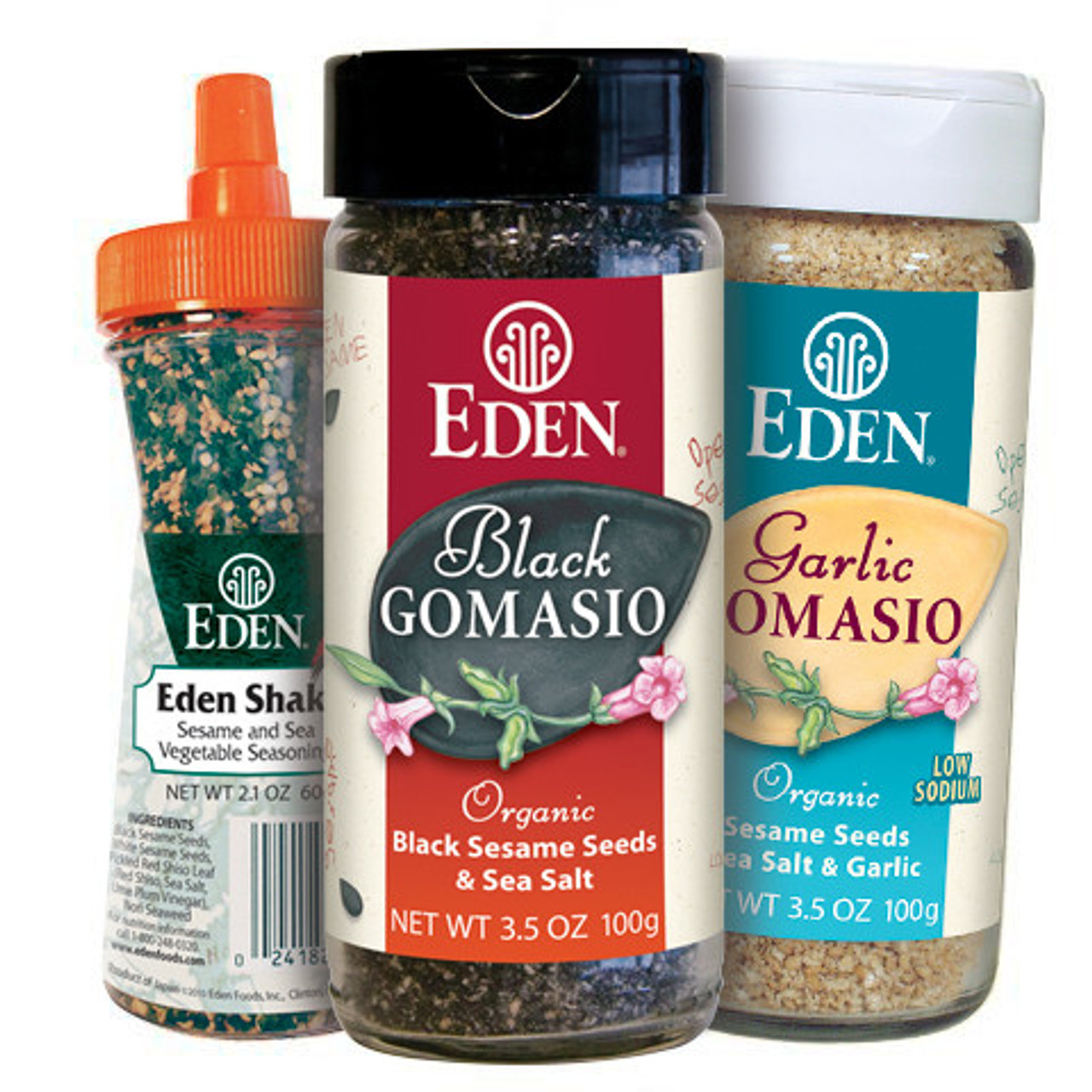 Sesame Condiment Sampler #2, Organic