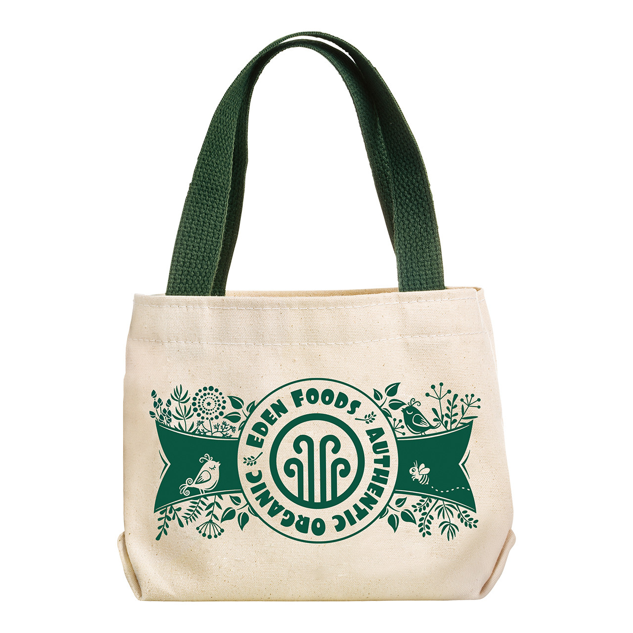 Cotton Canvas Lunch Bag