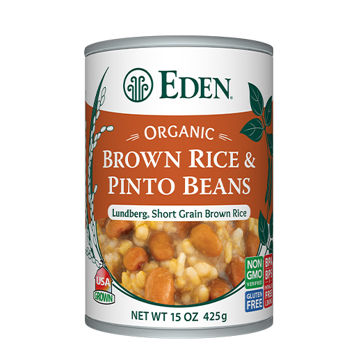 Brown Rice & Pinto Beans