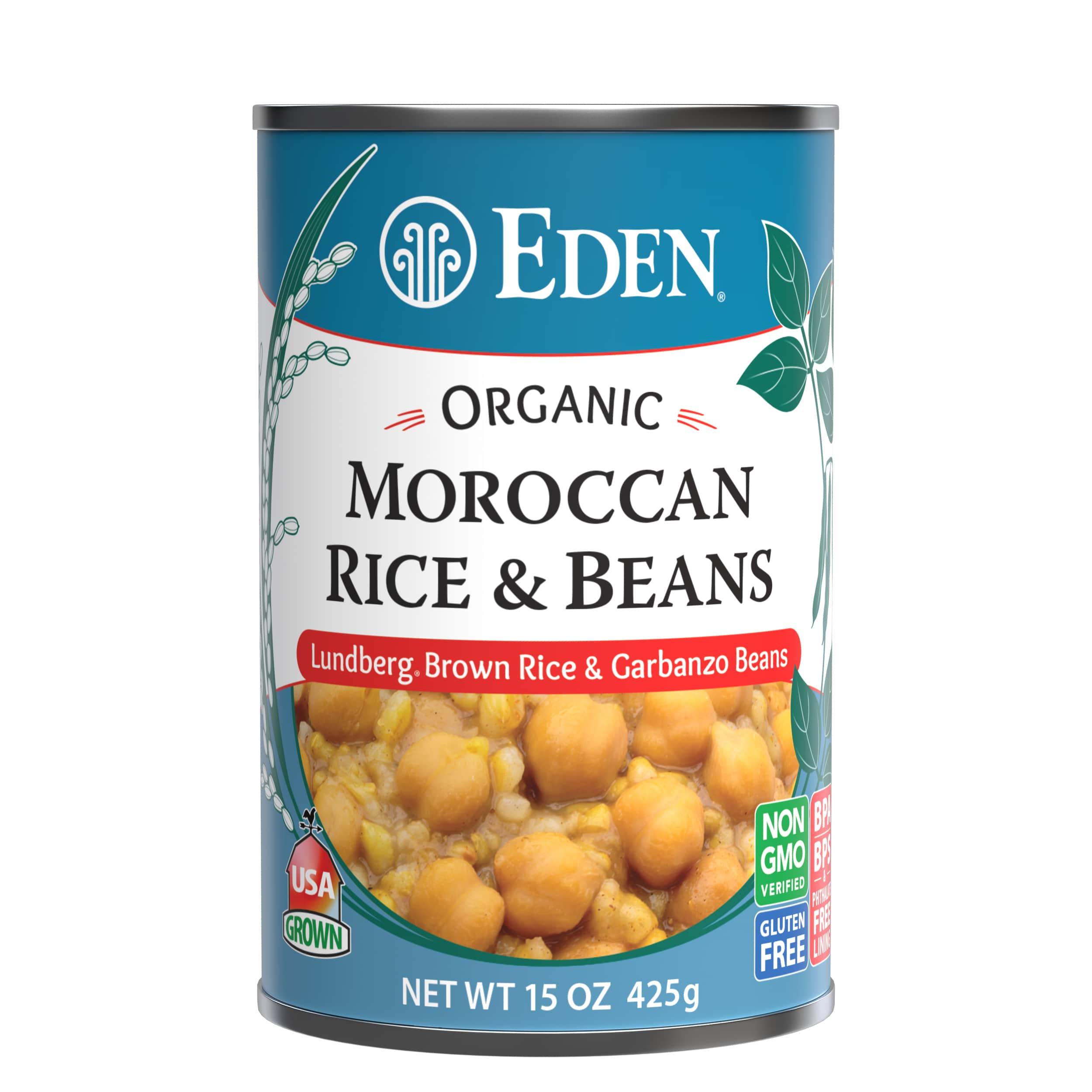 Moroccan Rice & Garbanzo Beans