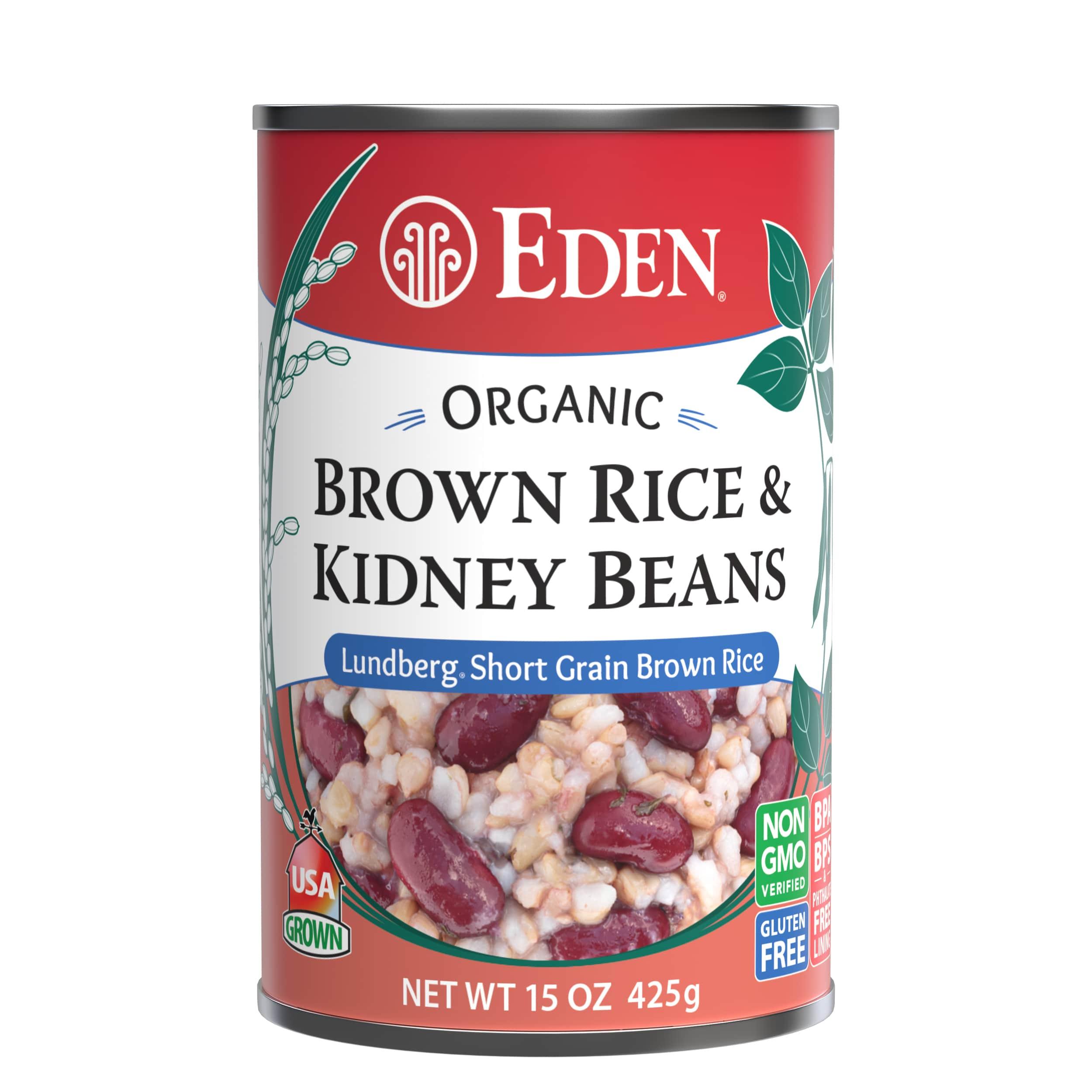 Brown Rice & Kidney Beans