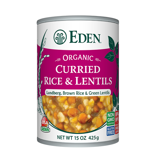 Curried Rice & Lentils