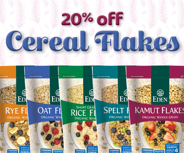 20% off Cereal Flakes