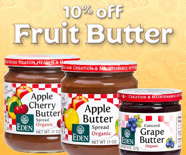 10% off Fruit Butter