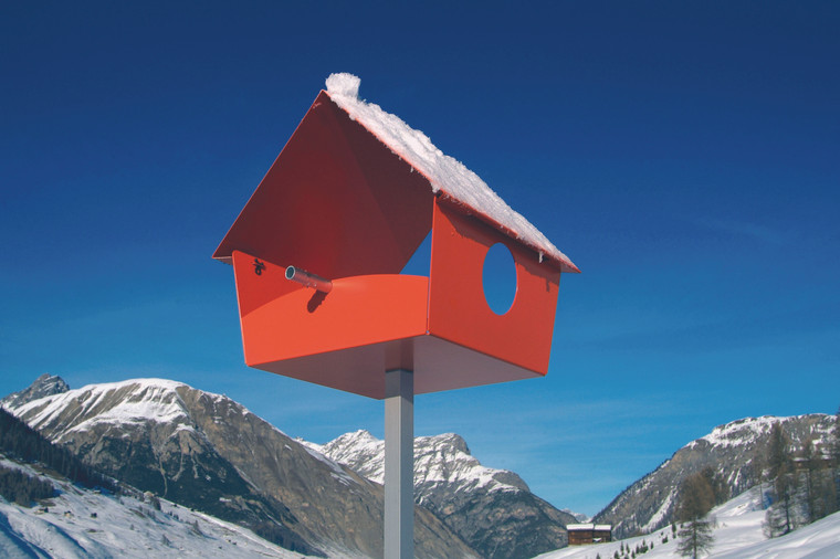 Piep Show XXL Bird House Orange