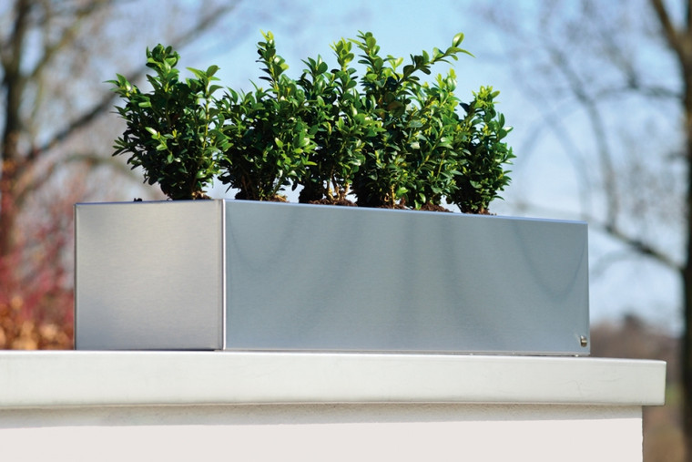 Plant Pot Stainless Steel 80cm