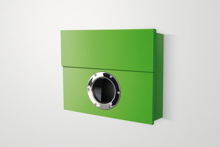 Letterman XXL Modern Mailbox green