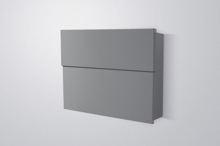 Silver Letterman XXL 2 Modern Mailbox