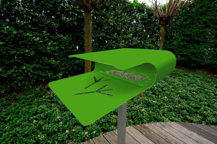 Green Piep Show 2 Bird House