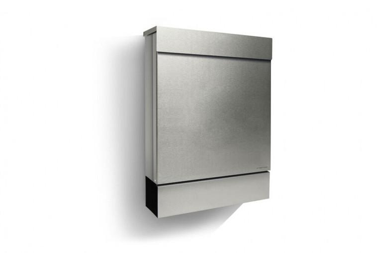 Stainless Steel Letterman M Modern Mailbox