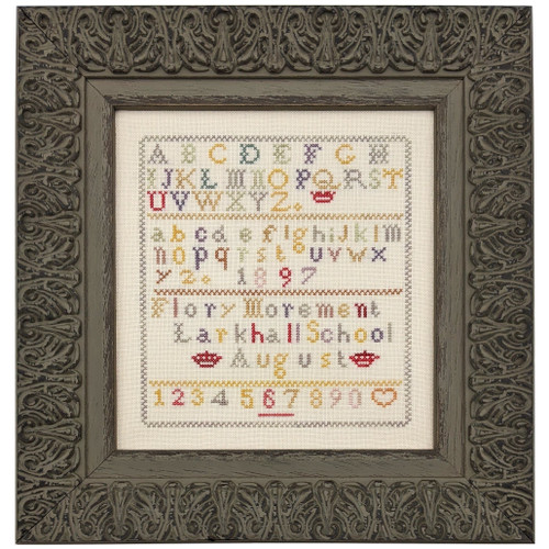 Flory Morement 1897  - Reproduction Cross Stitch Sampler Pattern