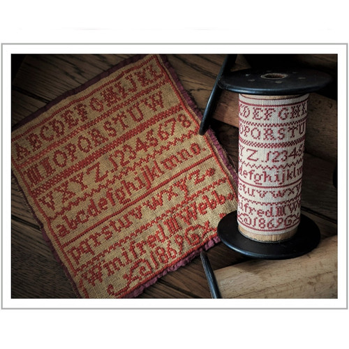 Winifred M Webb 1869  - Reproduction Cross Stitch Sampler Pattern (PDF)