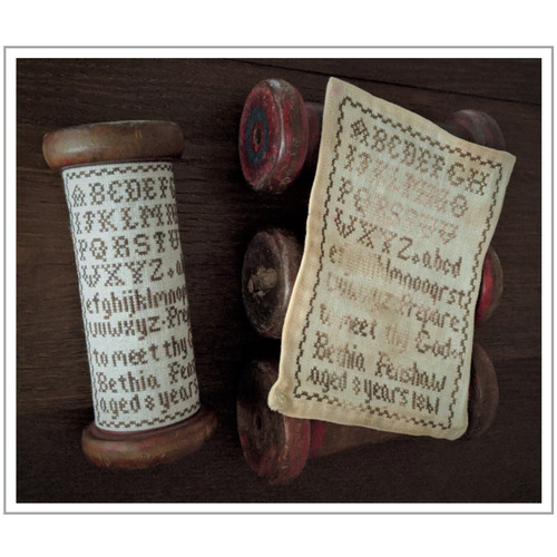Bethia Fenshaw 1861  - Reproduction Cross Stitch Sampler Pattern