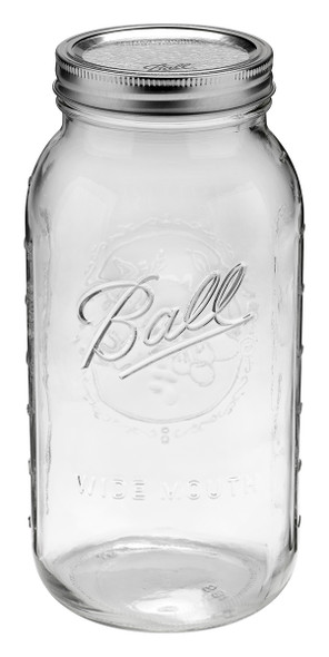 Ball Jar 64 oz (Half Gallon) Wide Mouth