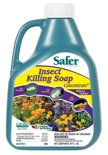 Safer Insect Killing Soap 16oz