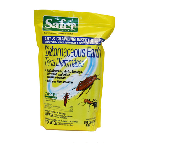 Safer Diatomaceous Earth 4lb - 4LB