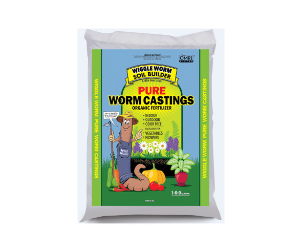 Wiggle Worm Soil Builder Earth Worm Castings 15 lb