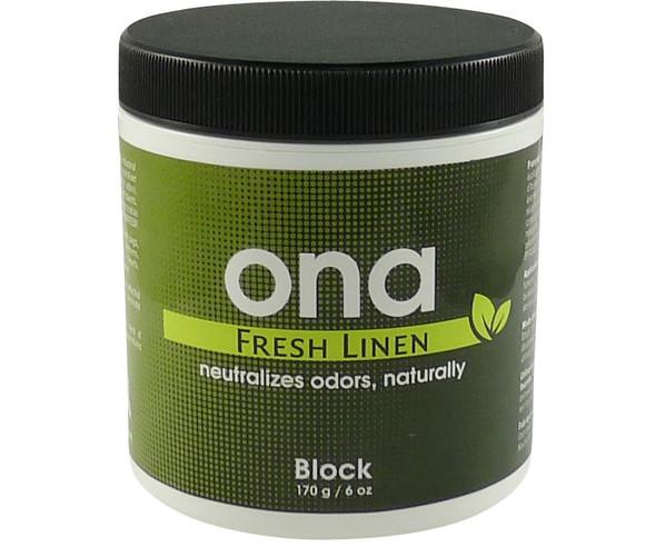 Ona Block Fresh Linen 6 oz