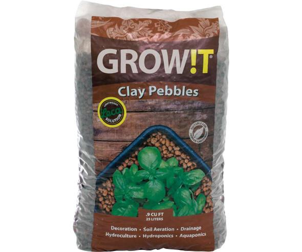 GROW!T Clay Pebbles 25 L