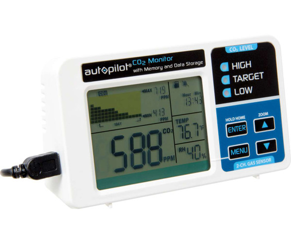 Autopilot CO2 Monitor with memory card