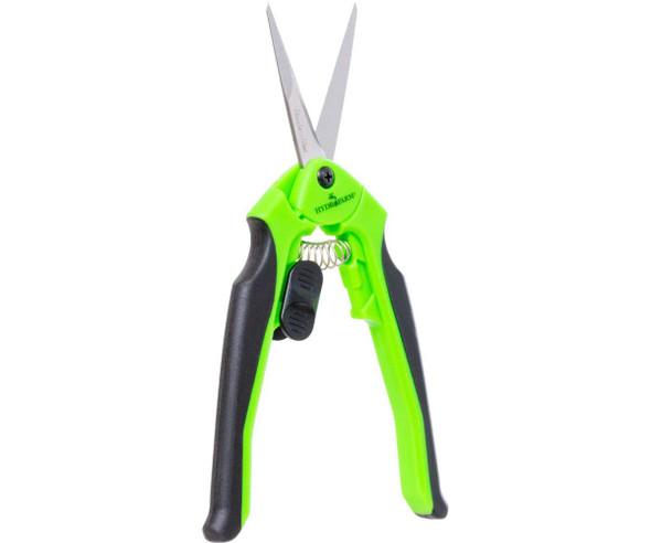 Trim Fast Ergonomic Pruner Straight Stainless (Neon Green)