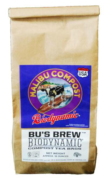 Malibu Compost Bu's Brew Biodynamic Compost Tea Bags