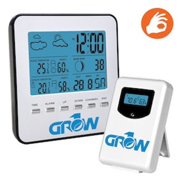 Grow1 Wireless Weather Station w/Sensor
