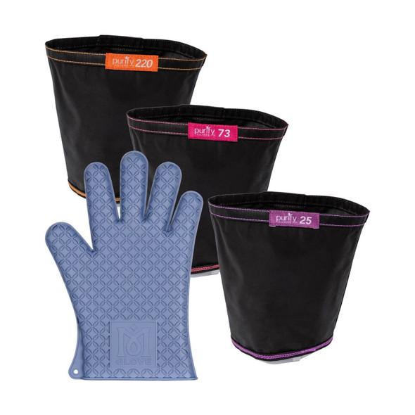 Magical Butter 4pk Combo Filter Bags/Glove