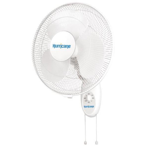 Hurricane Oscillating Wall Mount Fan 16 in (Supreme)