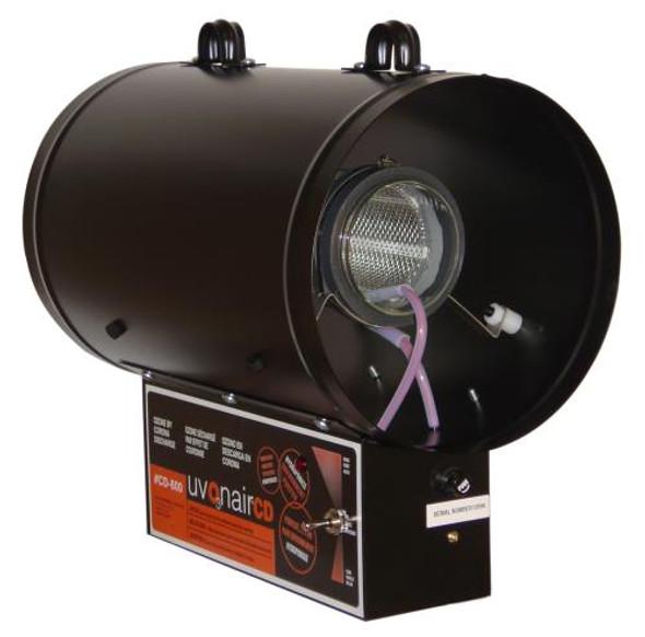 "Uvonair 8"" UV In-Line Duct Ozonator (High-Output UV Bulb)"