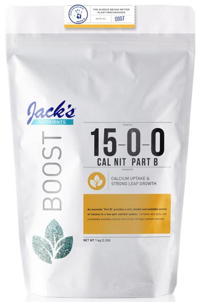 Jacks Nutrients Cal Nit Part B 15-0-0 - 2.2LB