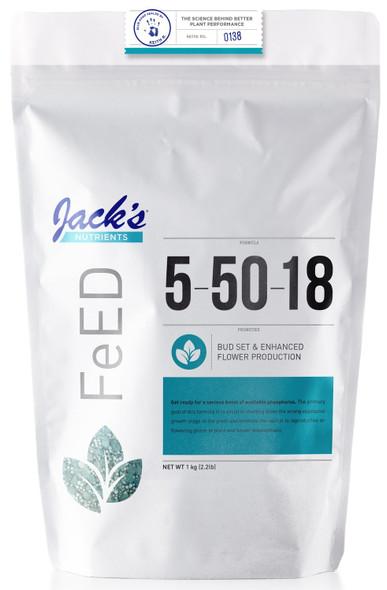 Jacks Nutrients Ultraviolet 5-50-18 - 2.2LB