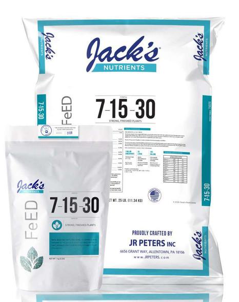 Jacks Nutrients Finish 7-15-30 - 2.2 LB