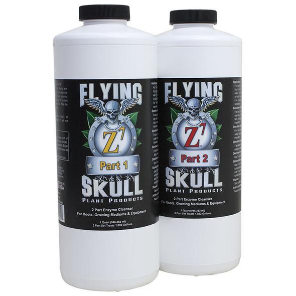 Flying Skull Z7 Enzyme Cleanser - 1 QT (2 Parts)