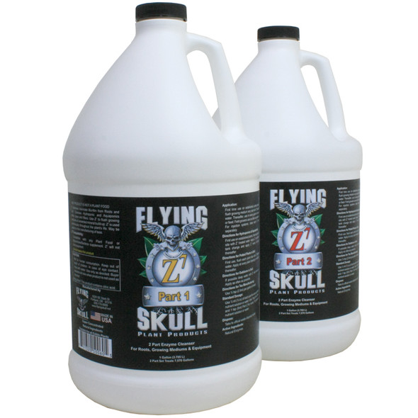 Flying Skull Z7 Enzyme Cleanser - 1 GAL (2 Parts)