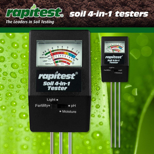 Luster Leaf Soil 4 in 1 Tester (DISCONTINUED)
