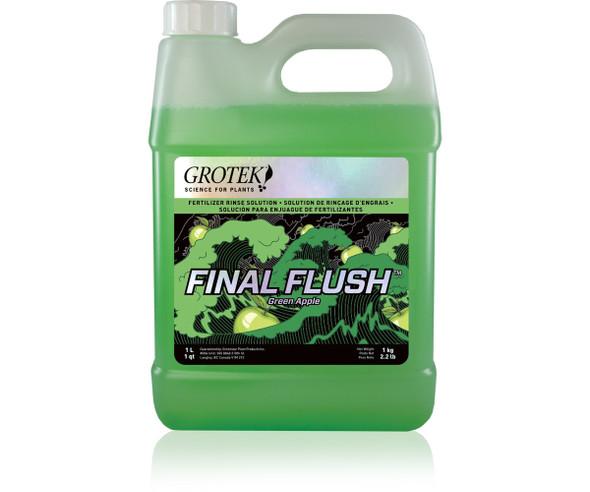Final Flush Green Apple 1L