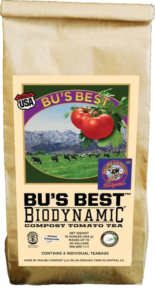 Malibu Compost Bu's Best Brew BioDynamic Compost Tomato Tea Organic