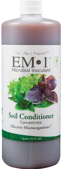 TeraGanix EM-1 Microbial Inoculant Soil Conditioner Concentrate - 32oz