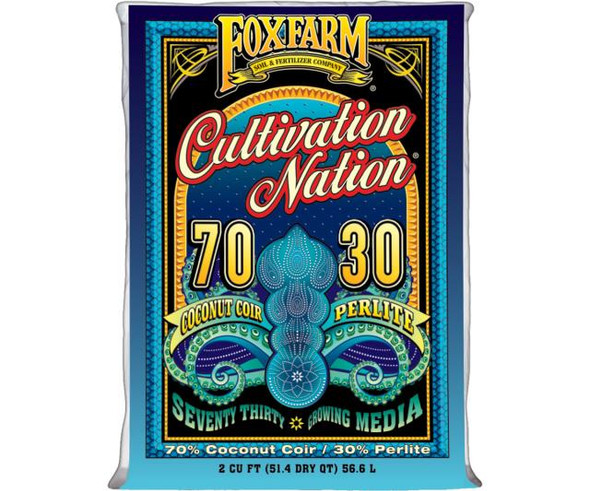 Cultivation Nation 70/30 Coconut Coir & Perlite - 2 cu ft