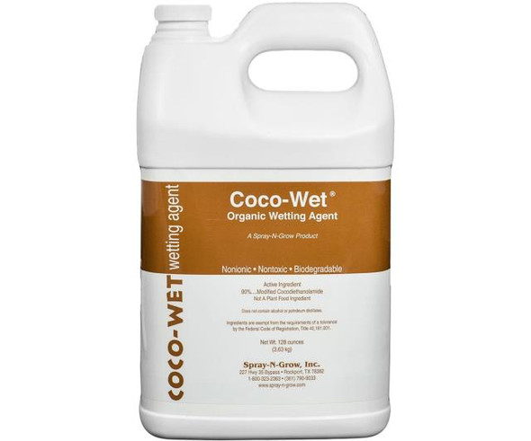 Coco-Wet Organic Wetting Agent - 1 gal