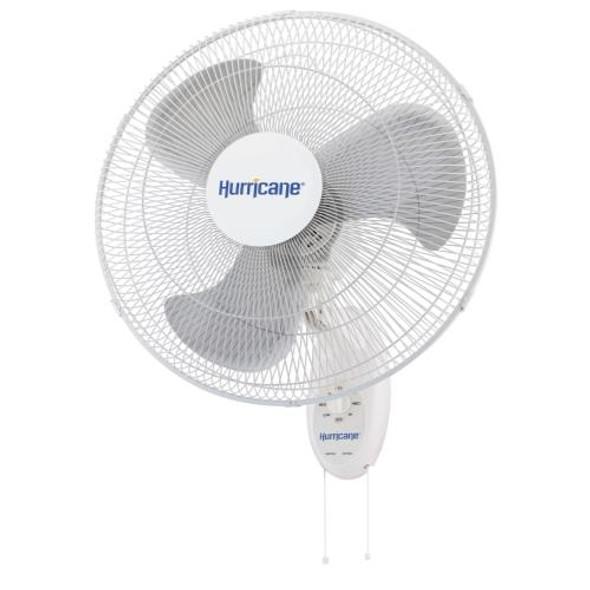 Hurricane Oscillating Wall Mount Fan 18 in (Supreme)