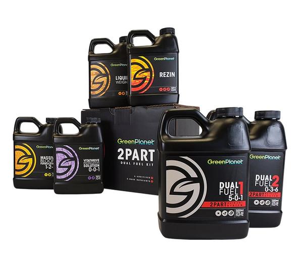 Green Planet 2 Part Dual Fuel Kit