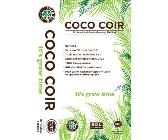 Char Coir 100% RHP Certified Coco Coir - 50L