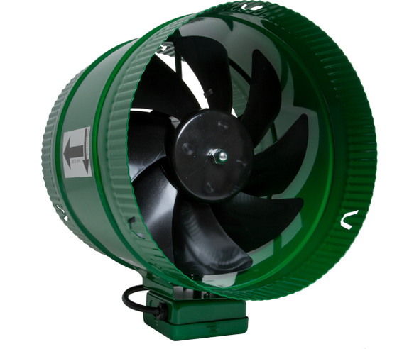"Active Air 10"" Inline Booster Fan, 661 CFM"