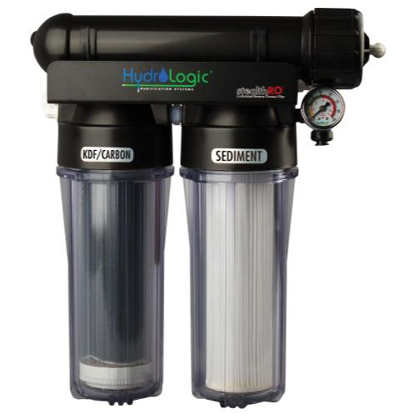 Hydro Logic Stealth RO 150 (with upgraded KDF 85 filter)