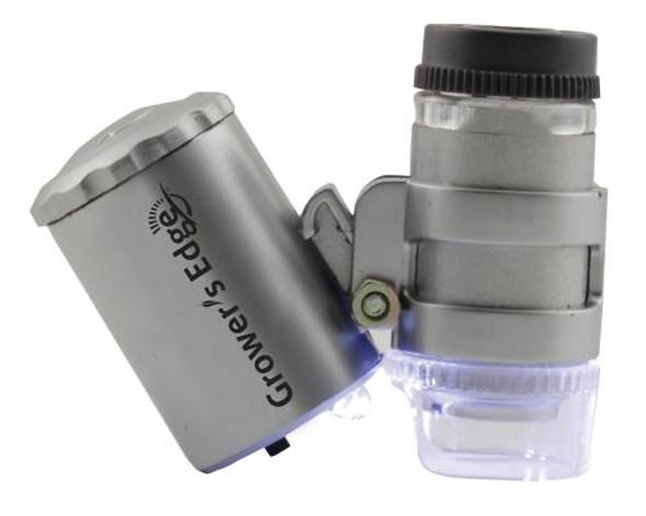 Grower's Edge Illuminated 60x Microscope