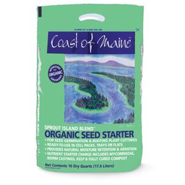 Coast Of Maine Seed Starter 16Qt