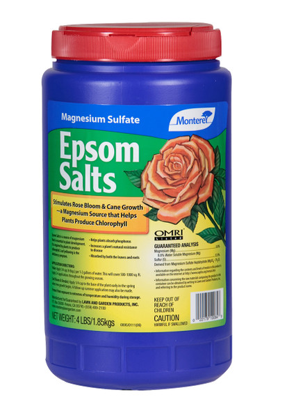 Monterey Epsom Salts - 4LB